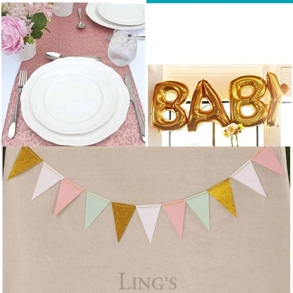 Budget Baby Shower Decorations