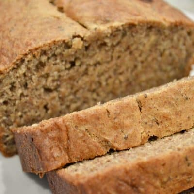 One Bowl Banana Bread | Chia & Flax