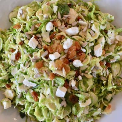 Brussels Sprouts Salad | Feta