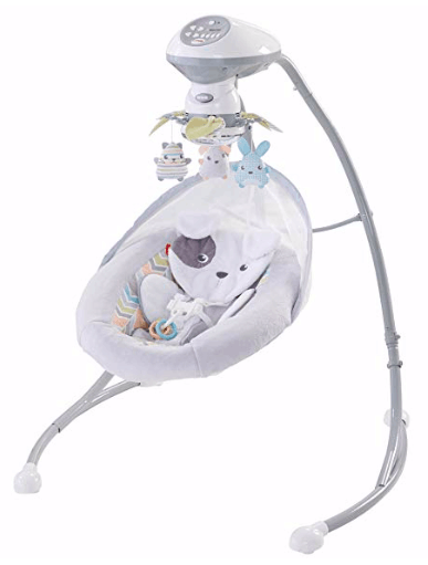 fisher price snugapuppy dreams cradle 'n swing is a best gear for a newborn