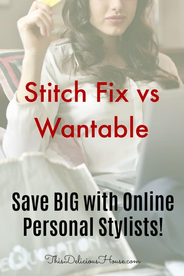 Stitch Fix vs Wantable. Find great fashion online with persona shopping services, Stitch Fix and Wantable. Learn the tricks to getting the best items for the price you want! #stitchfix #wantable #womensfashion #onlinepersonalshopper #personalshopper #momclothes #mom #parenting #fallfashion #summerfashion #women #shopping #flattering #clothes