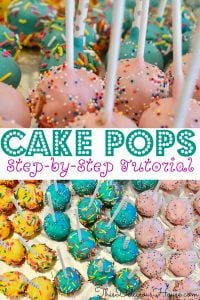 oreo cake pops in different colors with sprinkles