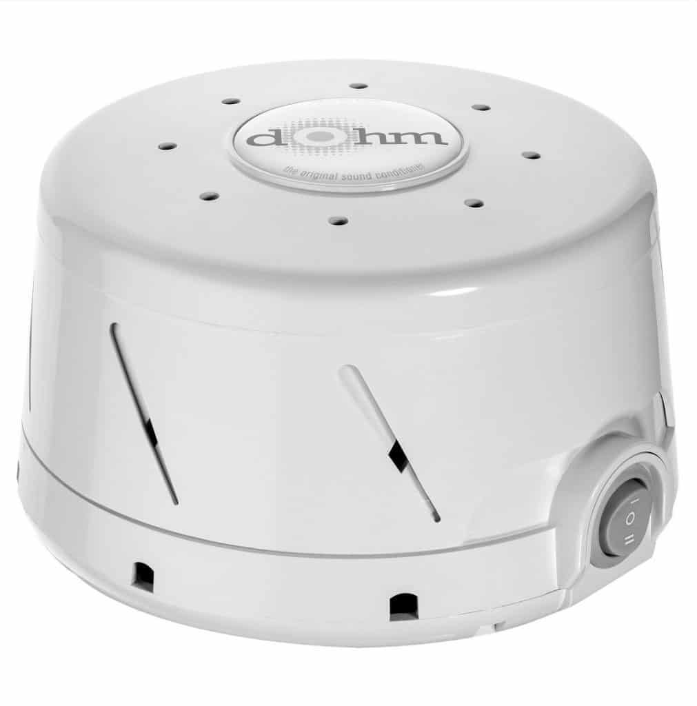 Dohm Noise Machine is a best gear for a newborn