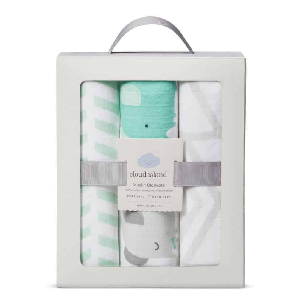 best gear for a newborn Muslin Swaddle Blankets