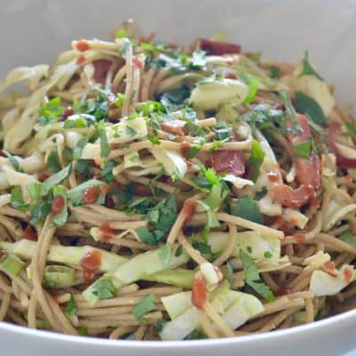 Asian Noodle Salad: Make-Ahead Lunch