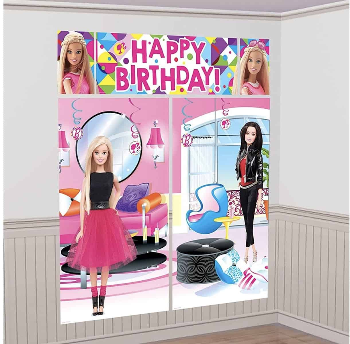 Birthday Birthday Party decorations and ideas. Save money on your Barbie Birthday Party. #barbie #birthday #party #barbiebirthdayparty #ideas #decorations