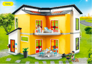 best gifts for a preschooler - playmobil modern house