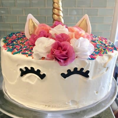 Unicorn Ice Cream Cake | Step-by-Step Instructions