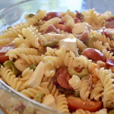 Italian Pasta Salad | Antipasto Style