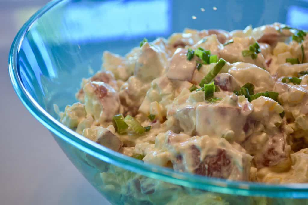 4th of July BBQ Easy Traditional Potato Salad