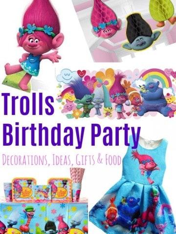 Troll Birthday Party