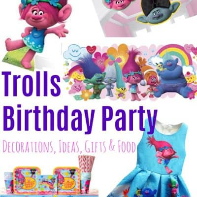 Trolls Birthday Party – The BEST Decorations