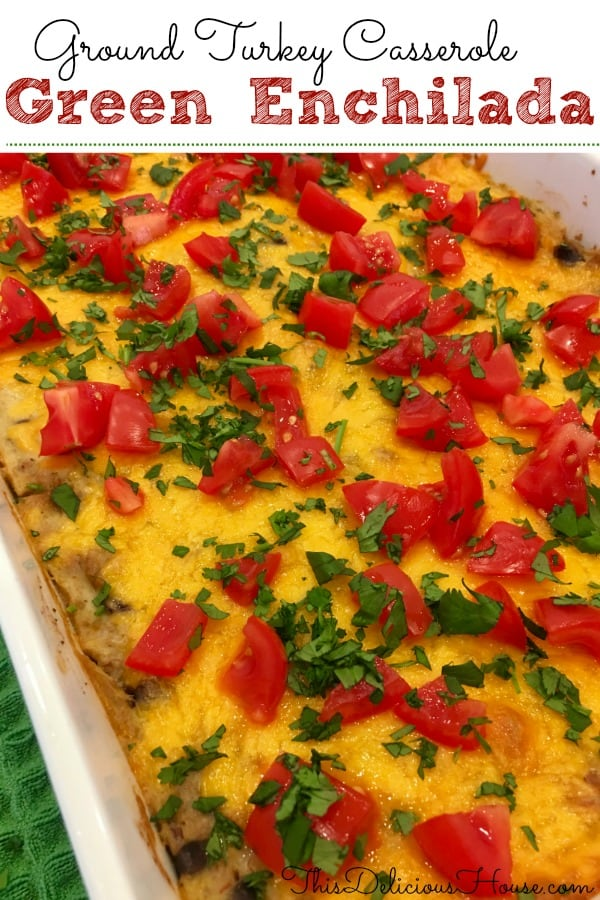 Green Enchilada Casserole recipe