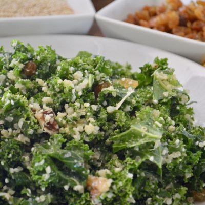 Kale Quinoa Salad | Golden Raisins