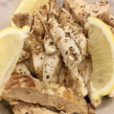 Make-Ahead Greek Chicken for Meal Prep