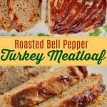 Turkey Meatloaf with Roasted Bell Peppers