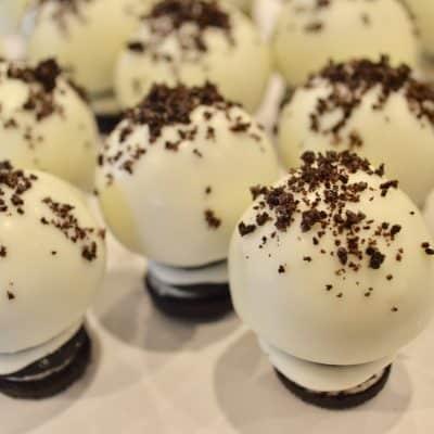 Cookies and Cream Oreo Truffles