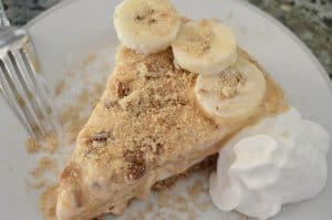 Banoffee Butter Pecan Ice Cream Cake