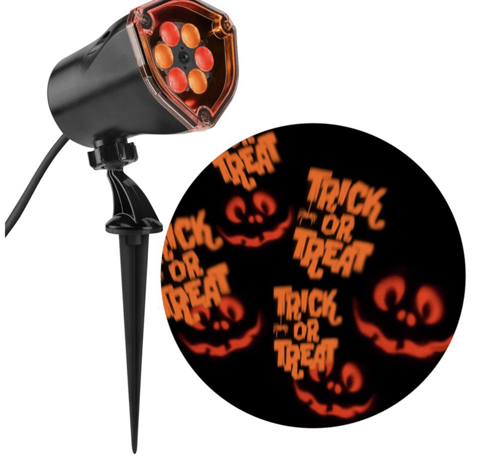 Red and Orange Trick or Treat Spotlight
