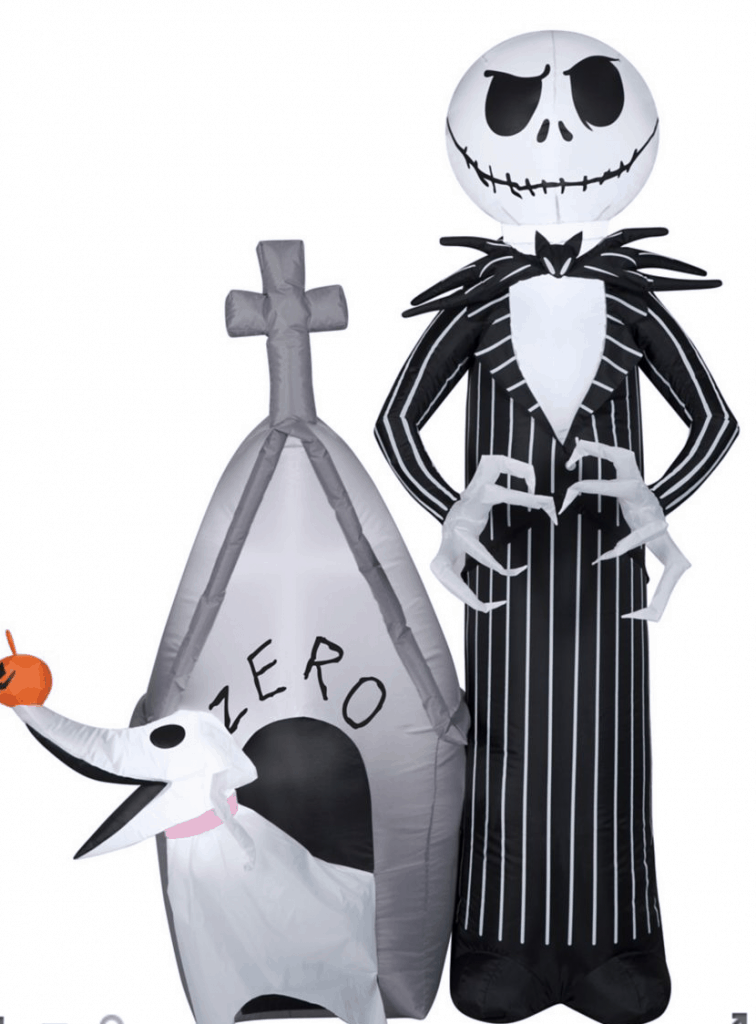 jack skellington halloween inflatable