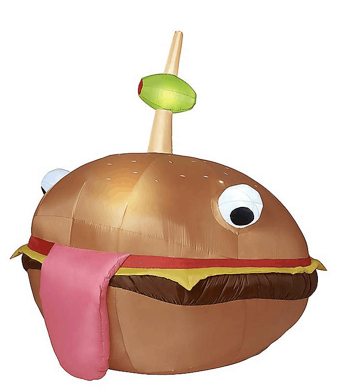 Durrr Burger inflatable.