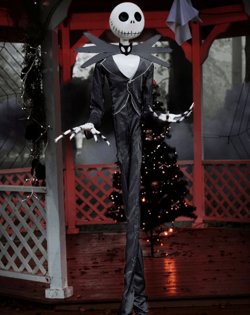 jack skellington animatronic.