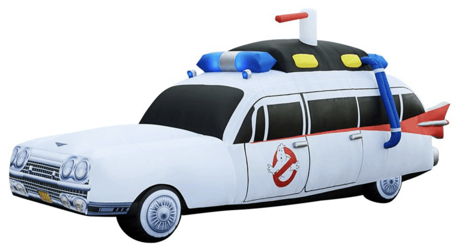 inflatable ghostbusters car