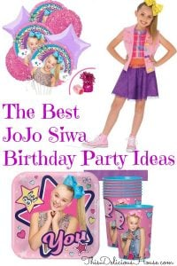 Jojo Siwa Birthday Party Ideas And Decorations This Delicious House