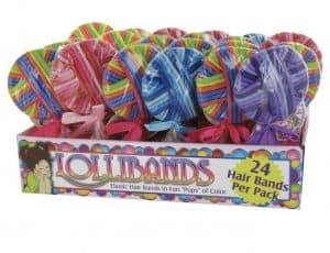 Lolliband party favors