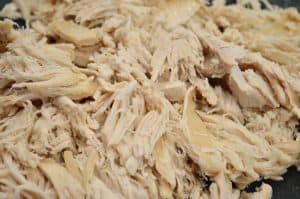 Shredded Chicken for Cream Cheese Chicken Enchiladas