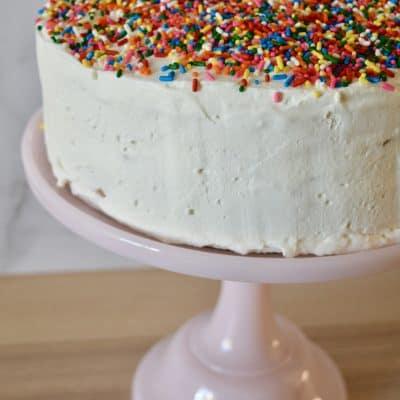 Easy Ice Cream Cake Recipe | Just 5 Ingredients!