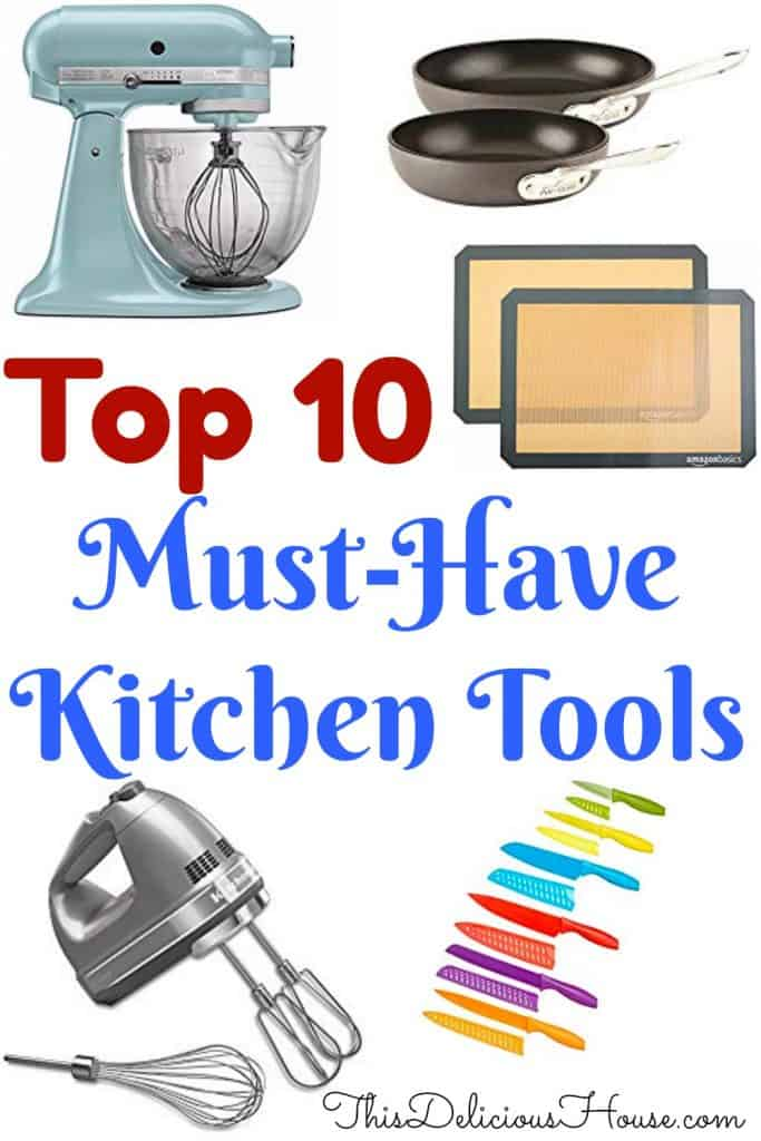 Kitchen Tools List | 10 Amazon Cooking Supplies - This ...