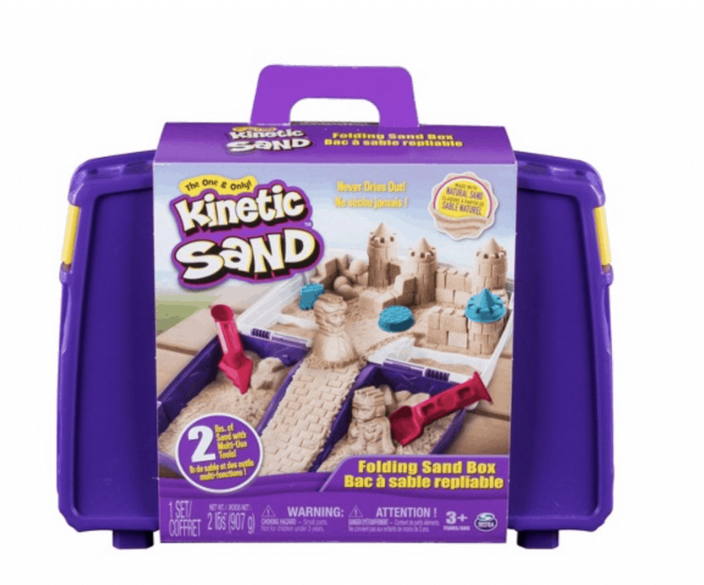 best gifts for 3-year-old girl kinetic sand box