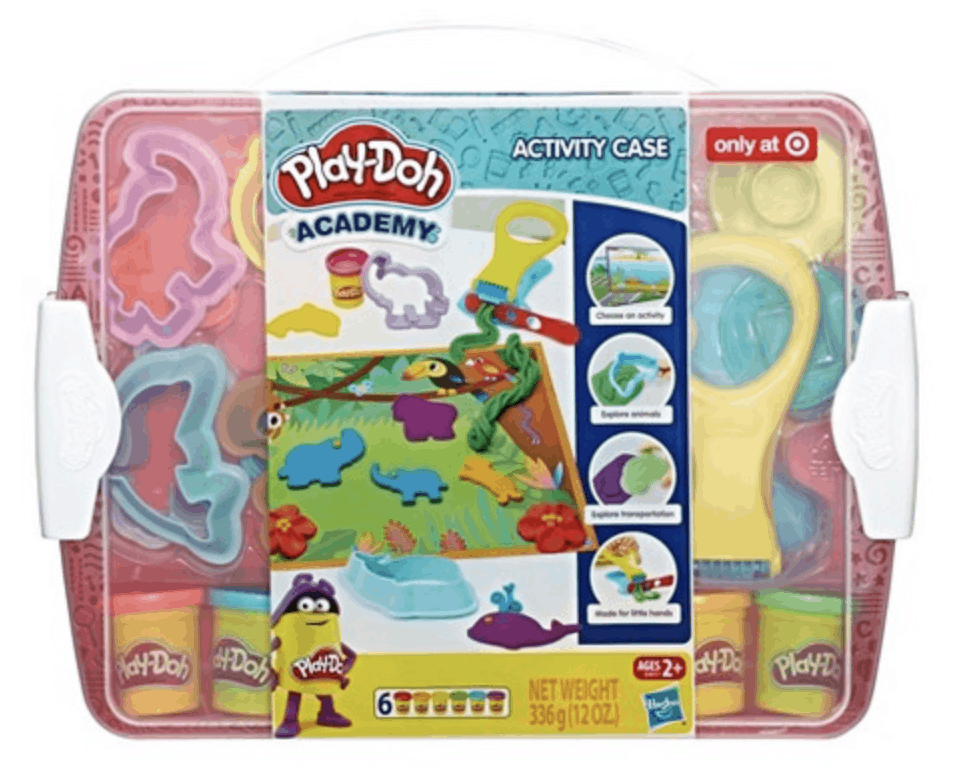 best gifts for 3-year-old girls play-doh academy activity case