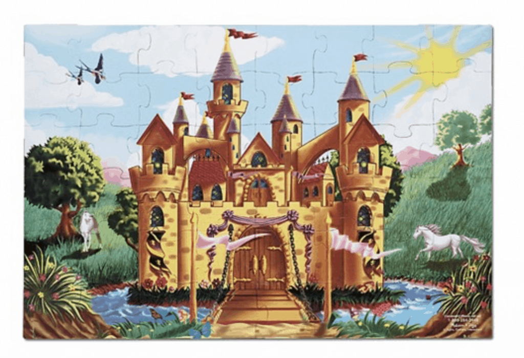 best gifts for a 3-year-old Melissa and Doug fairy castle puzzle