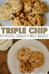 Triple Chocolate Chip Cookie dough