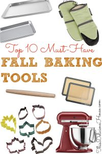 Fall Baking Tools that are a must have