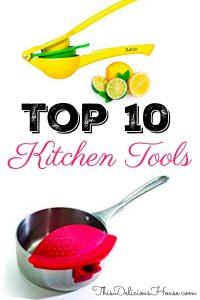 Top 10 Kitchen tools