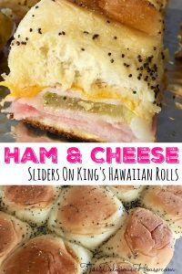 Ham and Cheese Sliders on King's Hawaiian Rolls Recipe