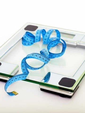 Why I'm Done with Diets photo of a scale and tape measure