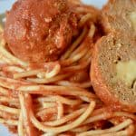 Provolone Stuffed Turkey Meatballs