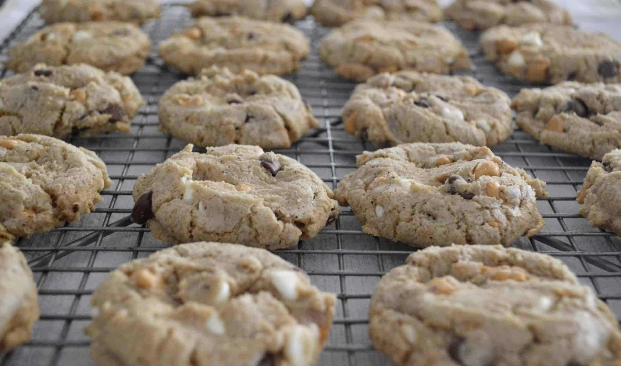 Triple Chocolate Chip Cookie dough