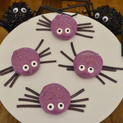 Oreo Cookie Spiders | Halloween Cookie