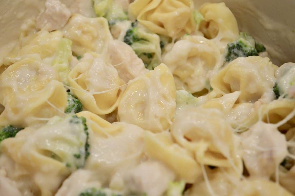 Chicken and Broccoli tortellini