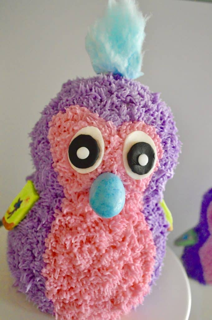 how to make a hatchimals cake