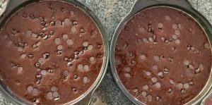 chocolate toffee caramel cake