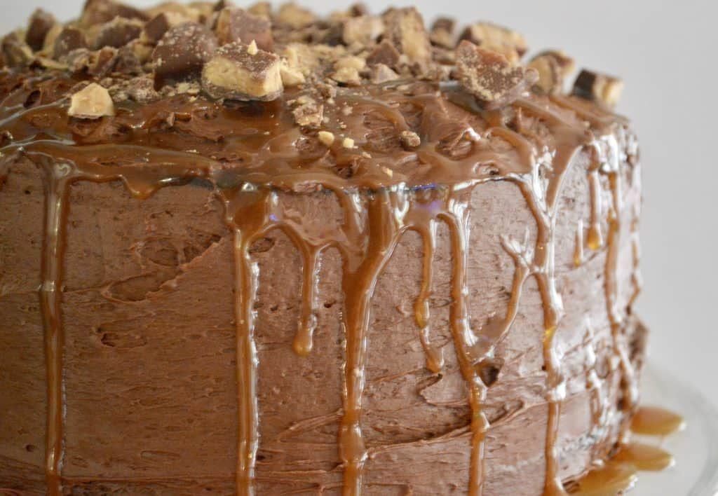 chocolate toffee caramel cake
