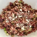 Red Quinoa Beet Salad