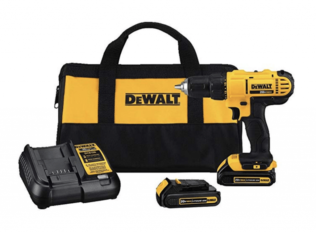 best gifts for men - dewalt cordless drill