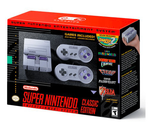 Best Gifts for Men - Nintendo Super NES Classic